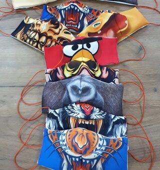 Друзья, изготавливаем защитные маски с индивидуальным принтом.